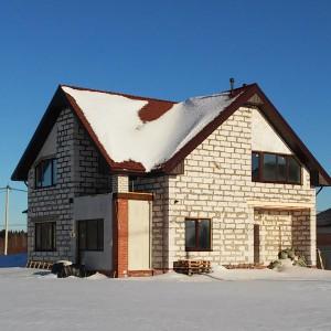 Дом из газобетона в Череповецком районе