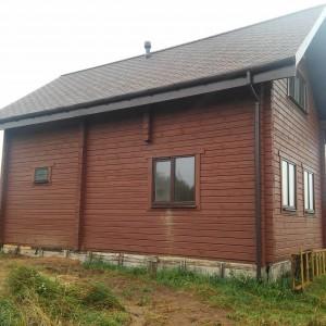 Дом из профилированного бруса 79 кв. м. в Мологе