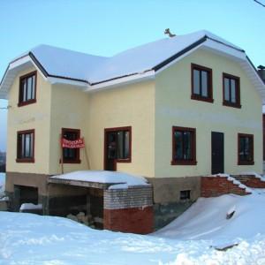 Коттедж из газобетона 270 кв. м. в Череповце