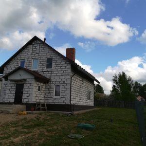 Дом из газобетона в Череповце