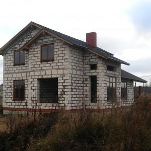 Дом из газобетона 228 м² в деревне Нова