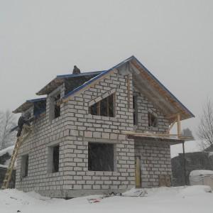 Дом из газобетона в Кириллове